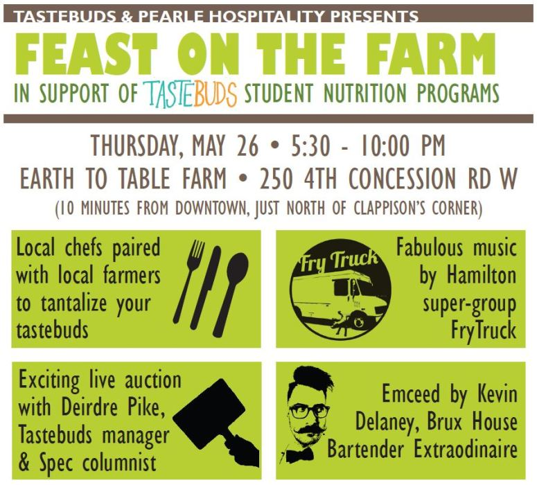 Tastebuds Hamilton Feast on the Farm