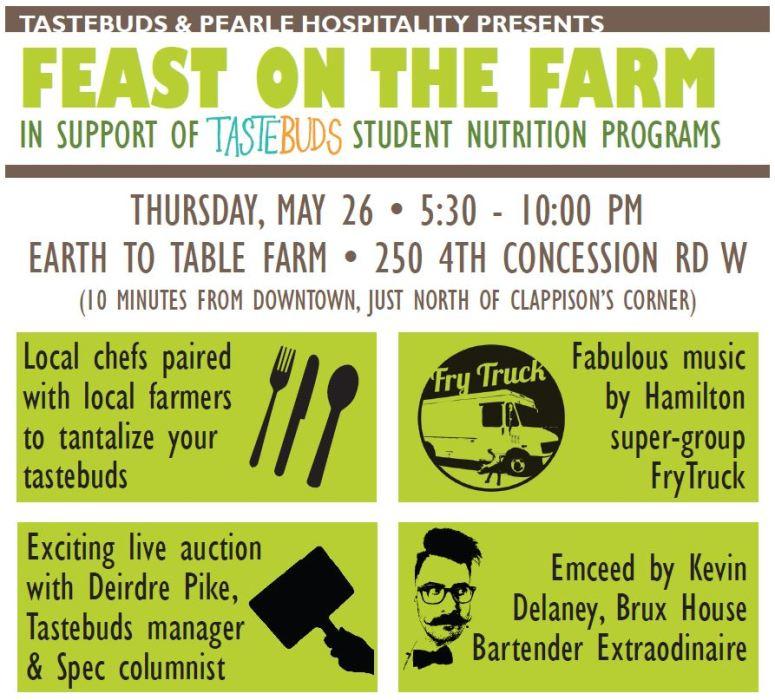 Tastebuds Hamilton Feast on the Farm