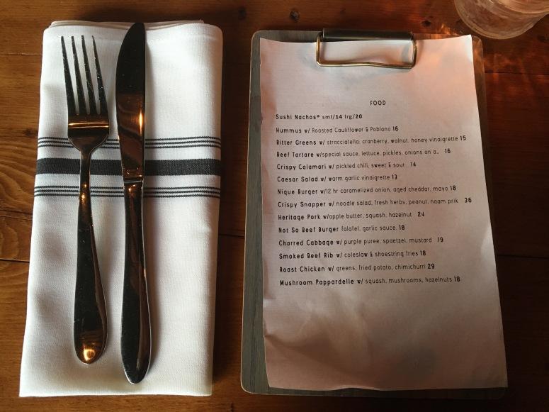 nique-menu